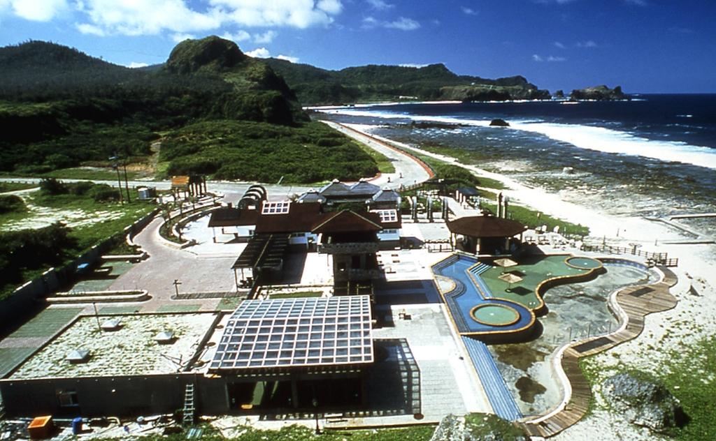 绿岛朝日温泉