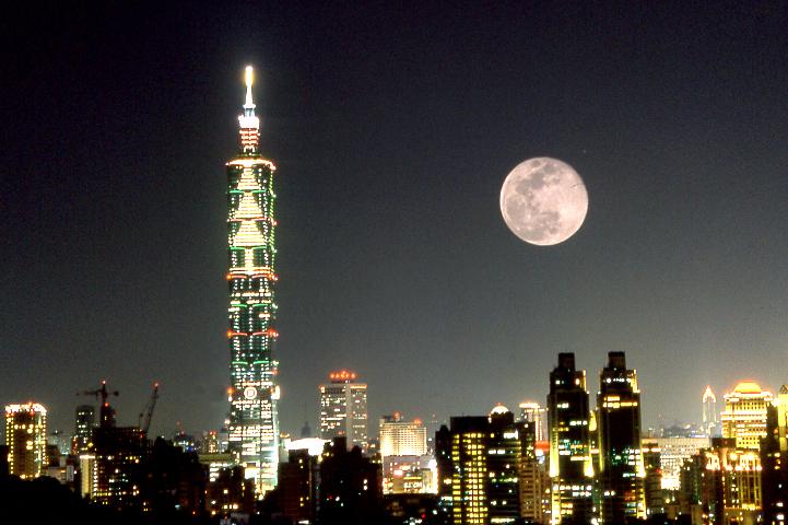 臺北101夜景