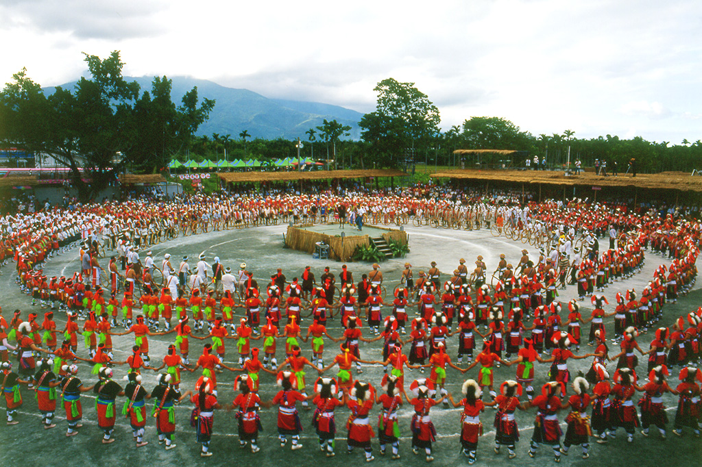 Fiesta de la cosecha de la tribu Ami