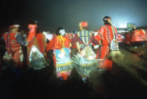 Sacrificio a los espíritus de la tribu Saisiat