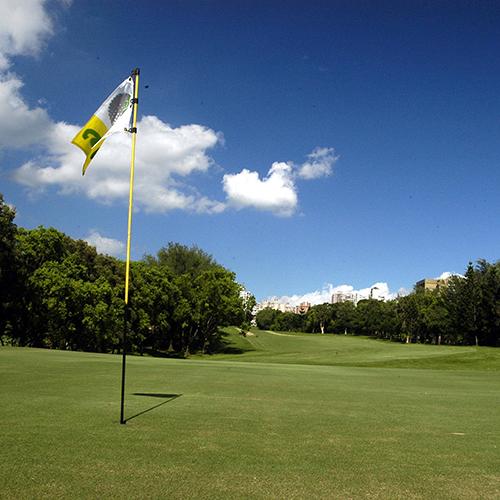 Golfing in Taiwan