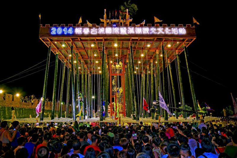 Hengchun, ciudad antigua, internacional, visitas turísticas y actividades culturales.
