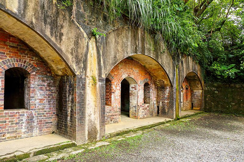 Fortaleza y baterías de Dawulun